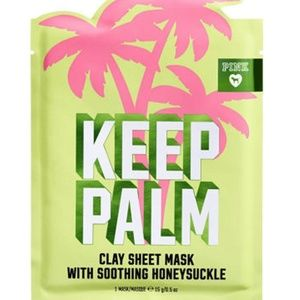 "VS ""KEEP PALM"" Clay Sheet Mask with Honeysuckle"